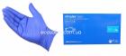 N | Перчатки М нитриловые синие Nitrylex Basic (100 шт.) 0