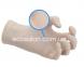 DG | Перчатки М латексные неопудренные, текстурированные DERMAGEL COATED (100 шт.) 0
