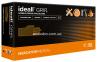 N | Перчатки L нитриловые  оранжевые Ideall Grip+ Orange (50 шт.), Mercator Medical 1