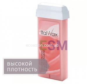 Воск теплый в картридже ItalWax, Роза (100 мл)