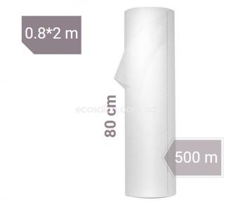 Простыни одноразовые белые 0,8*500 м, MED Eco (12 г/м2) CММС | отрывные (250 шт.)
