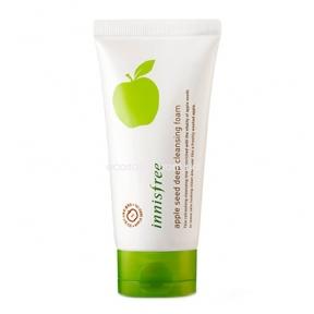 Пенка-маска для умывания Inisfree с экстрактом яблока (150 мл)   Apple Seed Deep Cleansing Foam