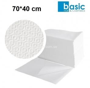 Полотенца одноразовые BASIC 70*40 см,