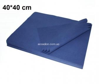 Коврики одноразовые 40*40 см, плотные (100 шт.), синий