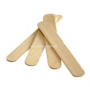 Шпатель для депиляции деревянный широкий (100 шт.)