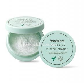 Пудра матирующая бесцветная рассыпчатая (5 г), Innisfree   No-sebum Mineral Powder