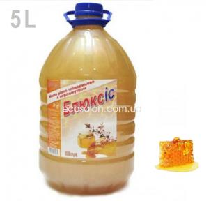 Мыло жидкое 5 л, Мед, Блюксис