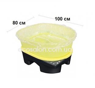 Чехлы для педикюрных ванночек с резинкой,  80*100 см (50 шт.)