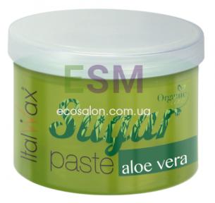 Сахарная паста ПЛОТНАЯ с Алоэ Вера (750 г) | ItalWax, Organic Line