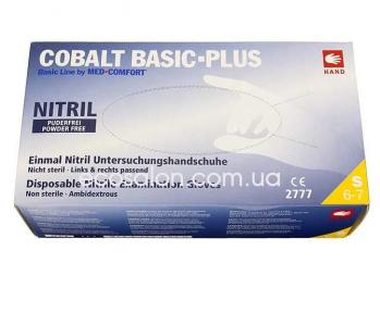 AMPri | Перчатки S нитриловые синие COBALT Basic Plus (200 шт.)