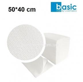 Полотенца одноразовые BASIC 50*40 см,