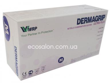 D | Перчатки М нитриловые голубые Dermagrip Ultra PLUS (200 шт.)