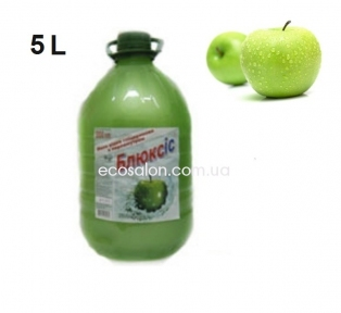 Мыло жидкое 5 л, Блюксис, яблоко