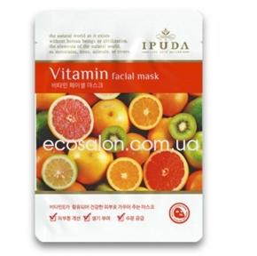 Витаминная тканевая маска, Eyenlip IPUDA