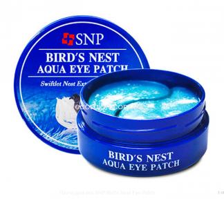 Патчи гидрогелевые SNP для век с экстрактом ласточкиного гнезда   SNP Bird's Nest Eye Patch