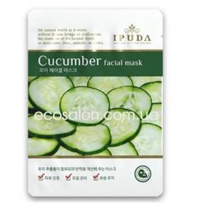 Питательная тканевая маска с Огуречным экстрактом, Eyenlip IPUDA