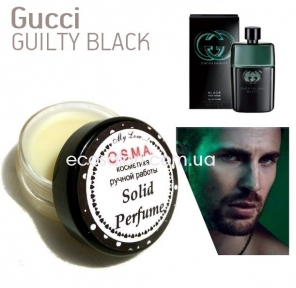 Guilty Black, Gucci (10 г), Solid Parfume, твердые духи