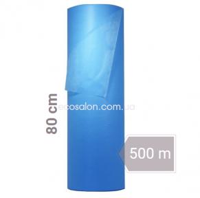 Простыни одноразовые голубые 0,8*500 м, Standart (17 г/м2) спанбонд