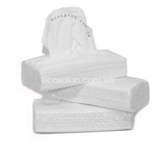 Косметические 2-слойные бумажные салфетки (150 шт.), в п/э упаковке