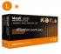 N | Перчатки L нитриловые  оранжевые Ideall Grip+ Orange (50 шт.), Mercator Medical